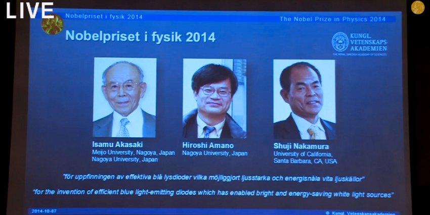 Nobelpreis / LED
